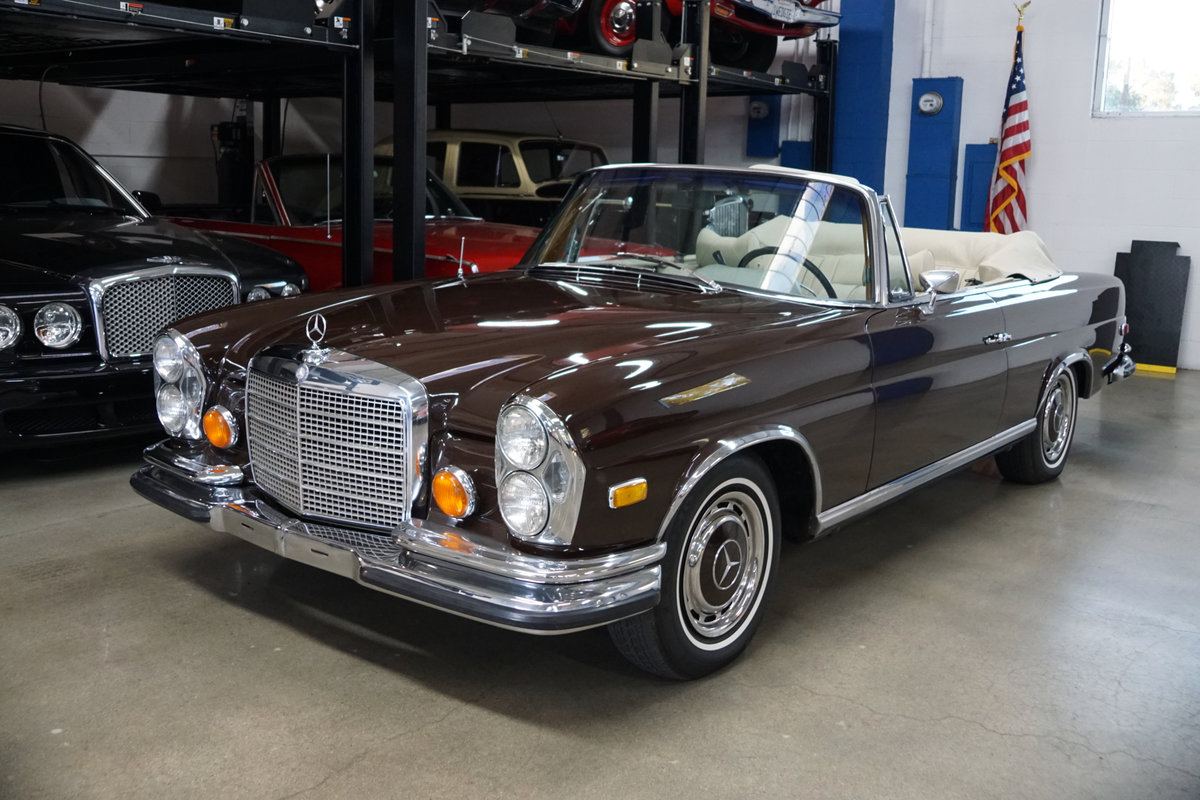 1971 Mercedes-Benz 280SE 3.5 V8 Cabriolet with factory AC For Sale (picture 1 of 6)
