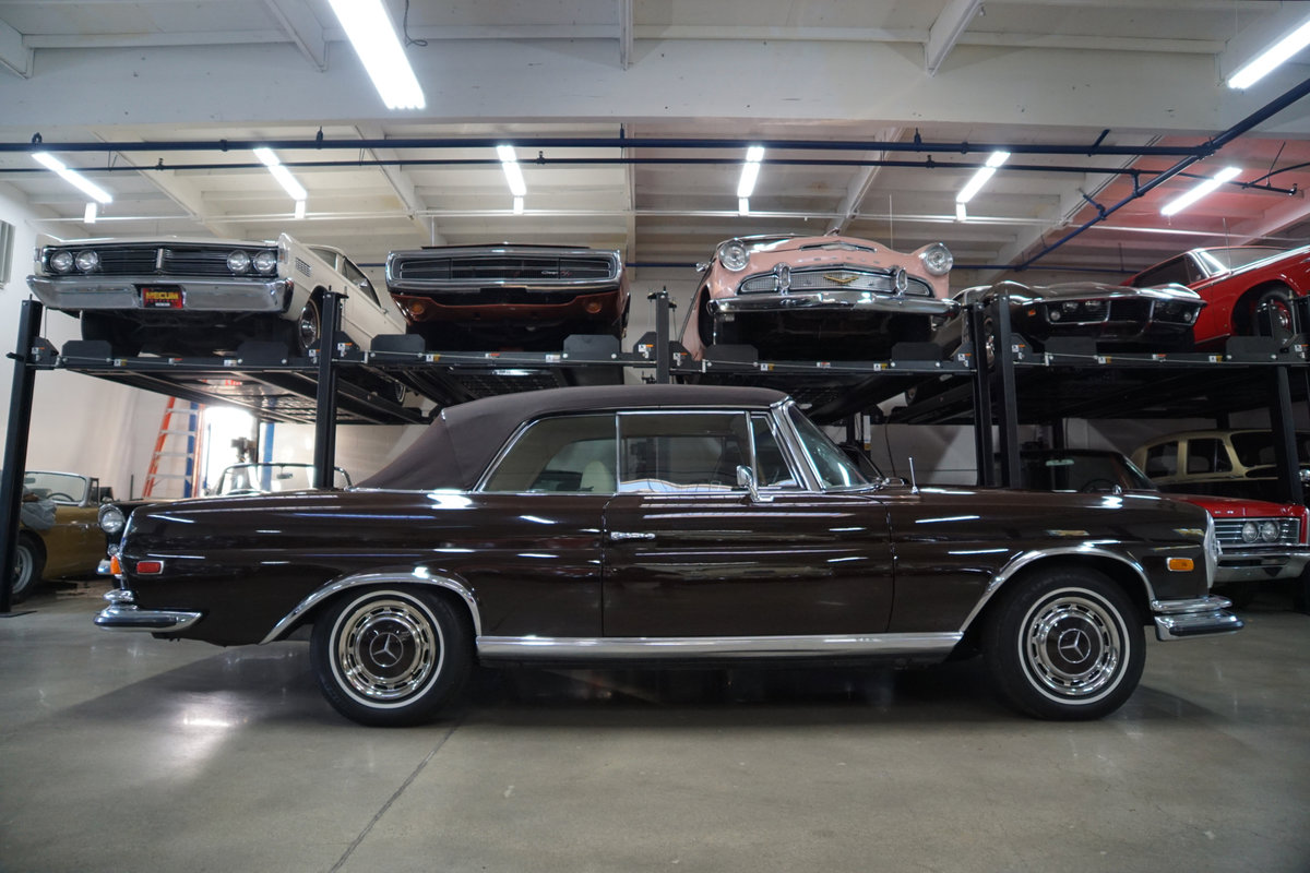 1971 Mercedes-Benz 280SE 3.5 V8 Cabriolet with factory AC For Sale (picture 3 of 6)