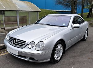 Picture of 2000 Mercedes CL500 with only 75k full Mercedes history 2 owner For Sale