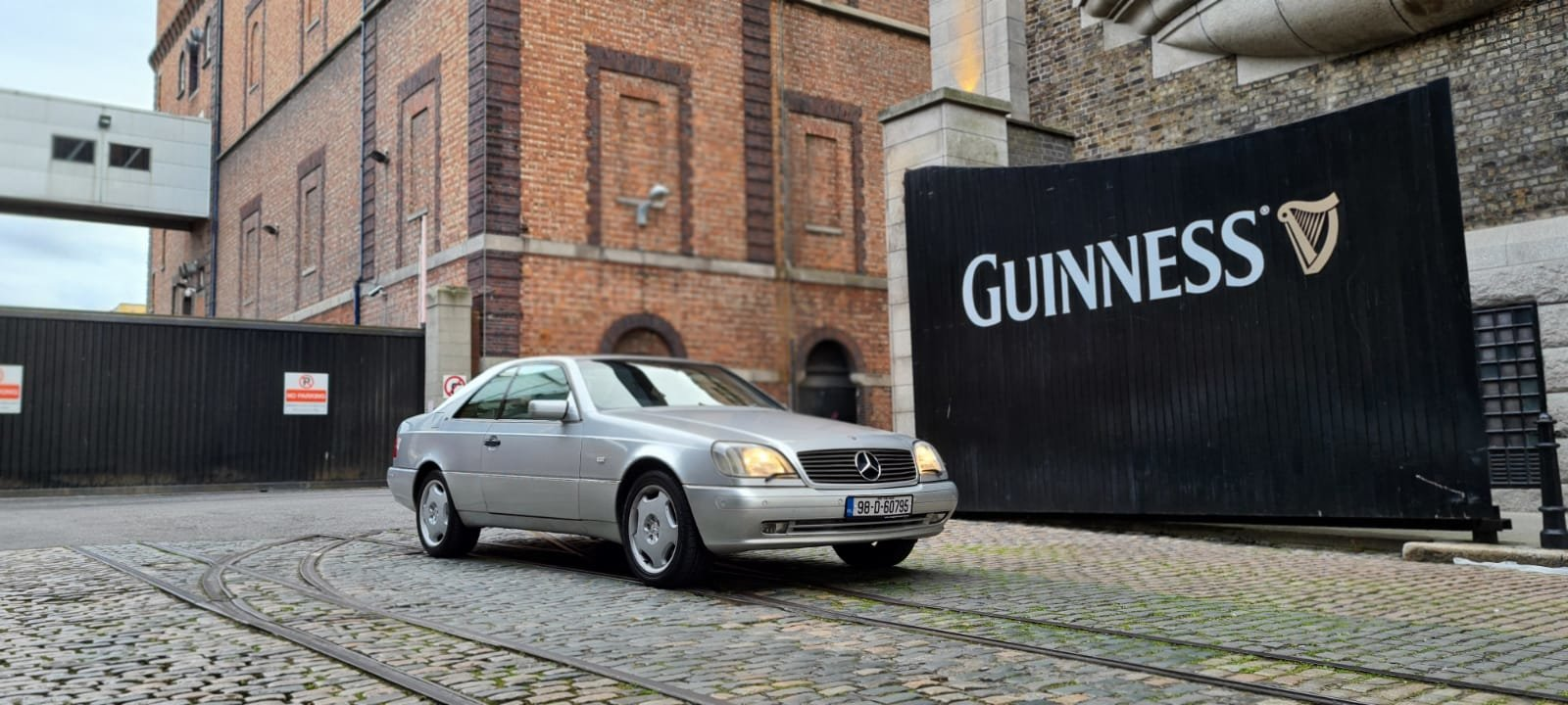 Picture of 1998 Immaculate Rare Mercedes CL600 V12- Coupe- Silver/Black For Sale