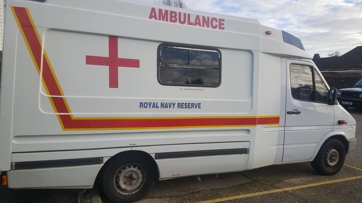 Picture of 1999 Mercedes Sprinter Ambulance campervan For Sale