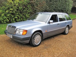 Picture of 1991 1 Elderly Owner With Just 53,000 Miles Mercedes W124 230TE For Sale