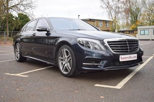 2014/14 Mercedes S500L AMG Line Auto in Anthracite Blue