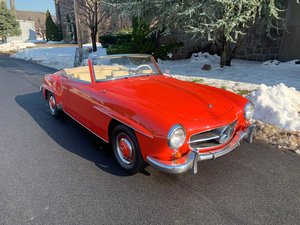 Picture of # 23617 1962 Mercedes 190SL Red For Sale