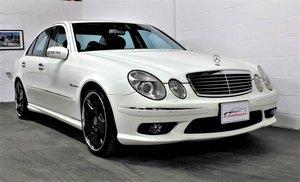 2005 Mercedes-Benz W211 E55 AMG,25,076 miles,Alabaster white