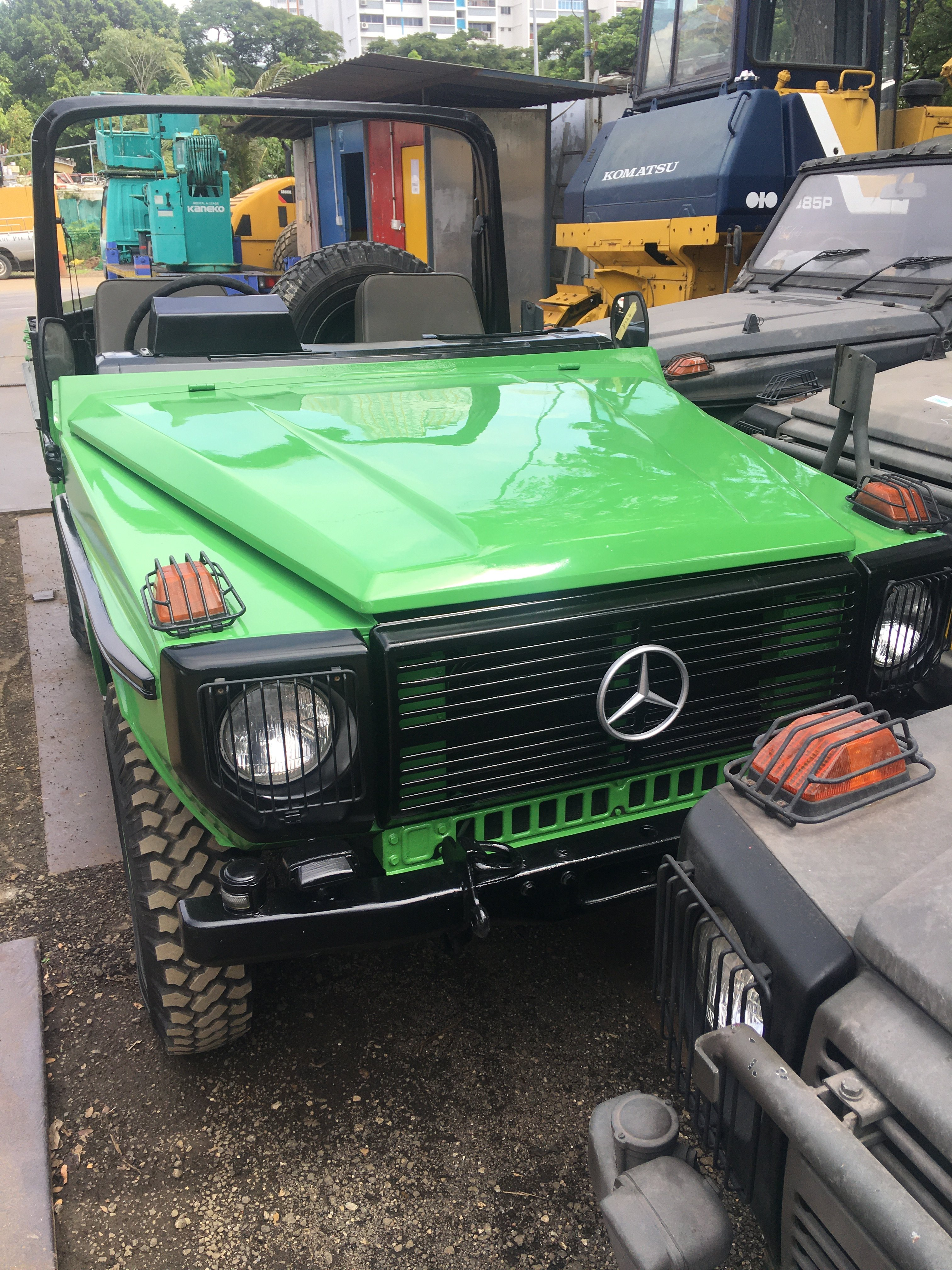 1987 MERCEDES BENZ G240 MILITARY SCOUT VEHICLE For Sale (picture 5 of 6)