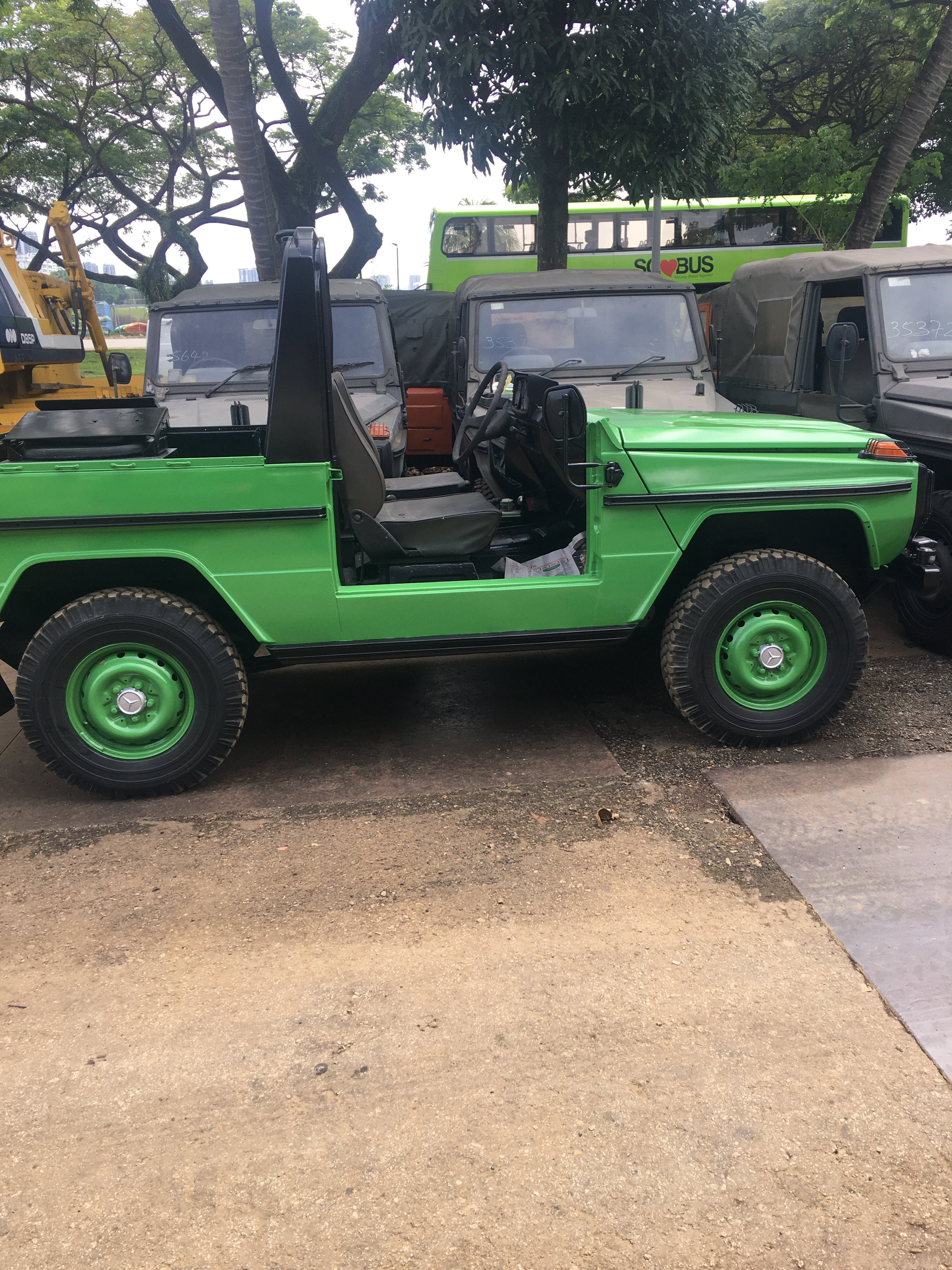 1987 MERCEDES BENZ G240 MILITARY SCOUT VEHICLE For Sale (picture 6 of 6)