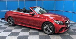 Picture of 2019 Mercedes C300d Convertible For Sale