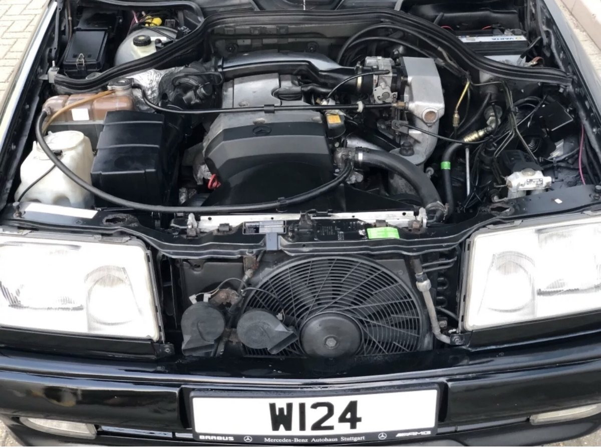 1995 Mercedes w124 2.2 petrol genuine AMG body kit For Sale (picture 7 of 12)