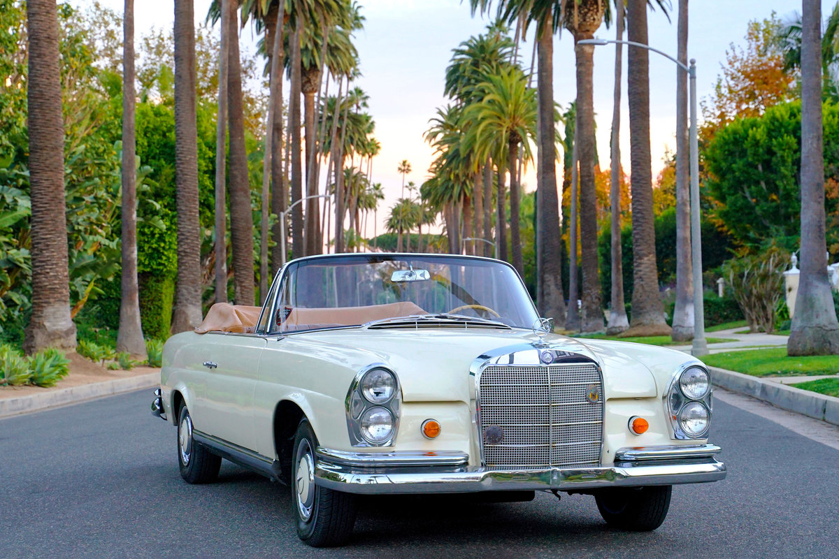 1965 Mercedes Benz 220se Cabriolet For Sale Car And Classic