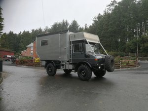 Unimog U1350L Camper Conversion