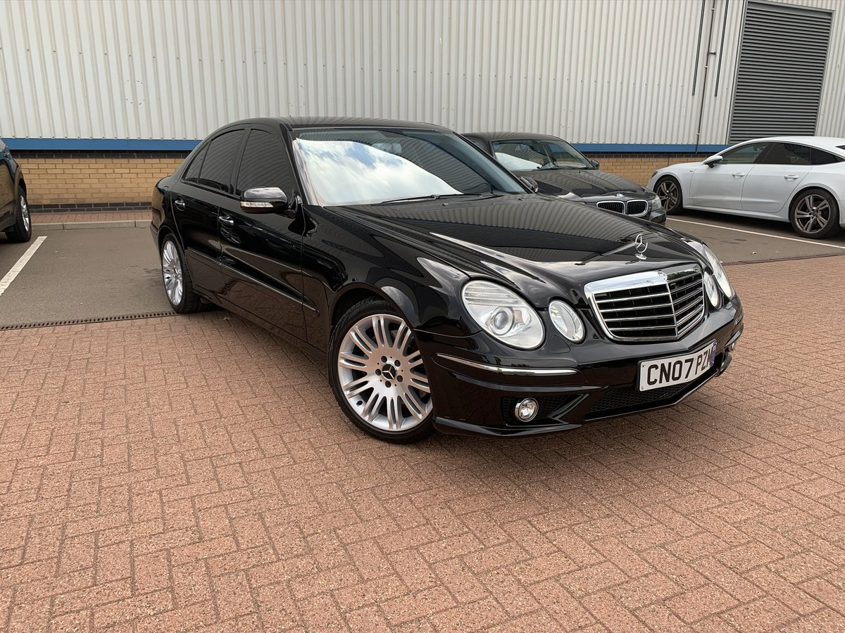 2007 Mercedes-Benz, E280 3.0 V6 AMG Pack, Petrol, 81k m For Sale (picture 1 of 12)