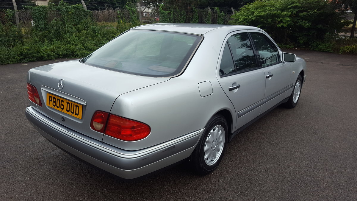 1996 mercedes e200 - 2 owners from new - only 39000 mls For Sale | Car And Classic