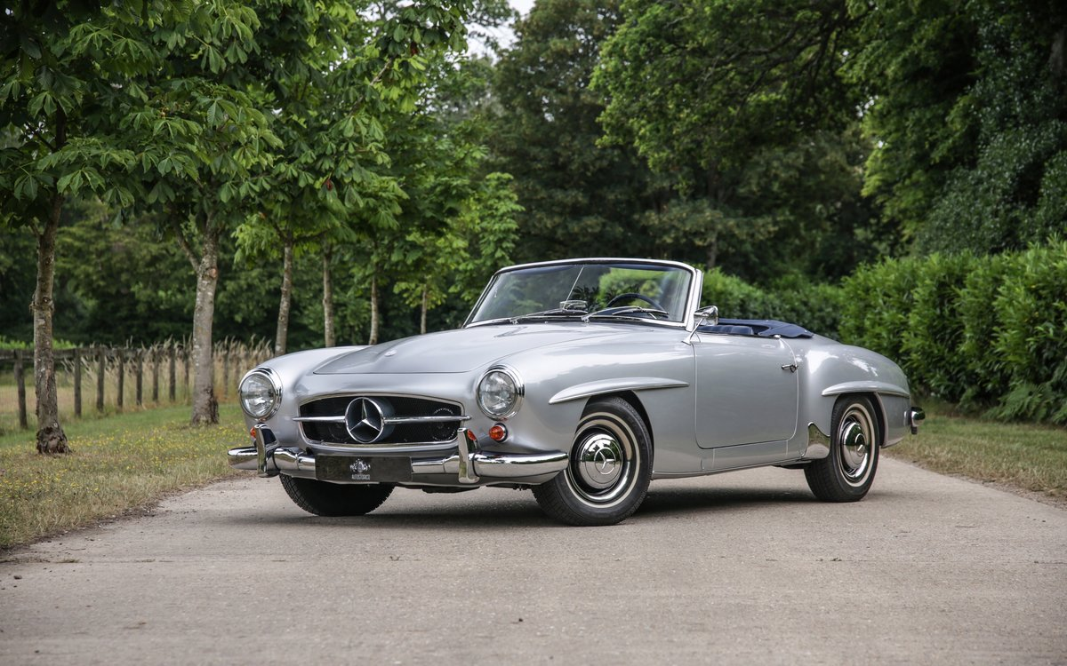 1962 Mercedes 190 SL Roadster For Sale (picture 1 of 19)