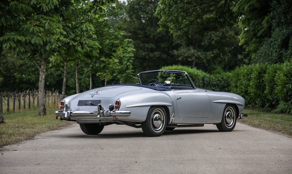 1962 Mercedes 190 SL Roadster For Sale (picture 2 of 19)