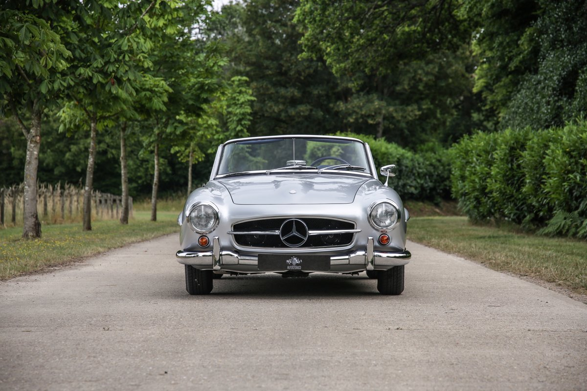1962 Mercedes 190 SL Roadster For Sale (picture 3 of 19)
