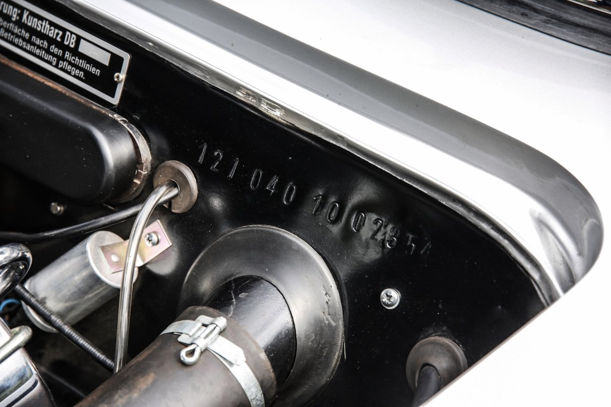 1962 Mercedes 190 SL Roadster For Sale (picture 14 of 19)