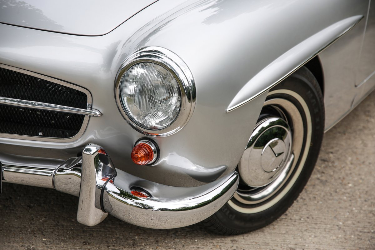 1962 Mercedes 190 SL Roadster For Sale (picture 17 of 19)