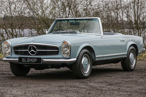 Picture of 1968 Mercedes-Benz 280SL Pagoda Manual 4-Speed Horizon Blue #2254 For Sale