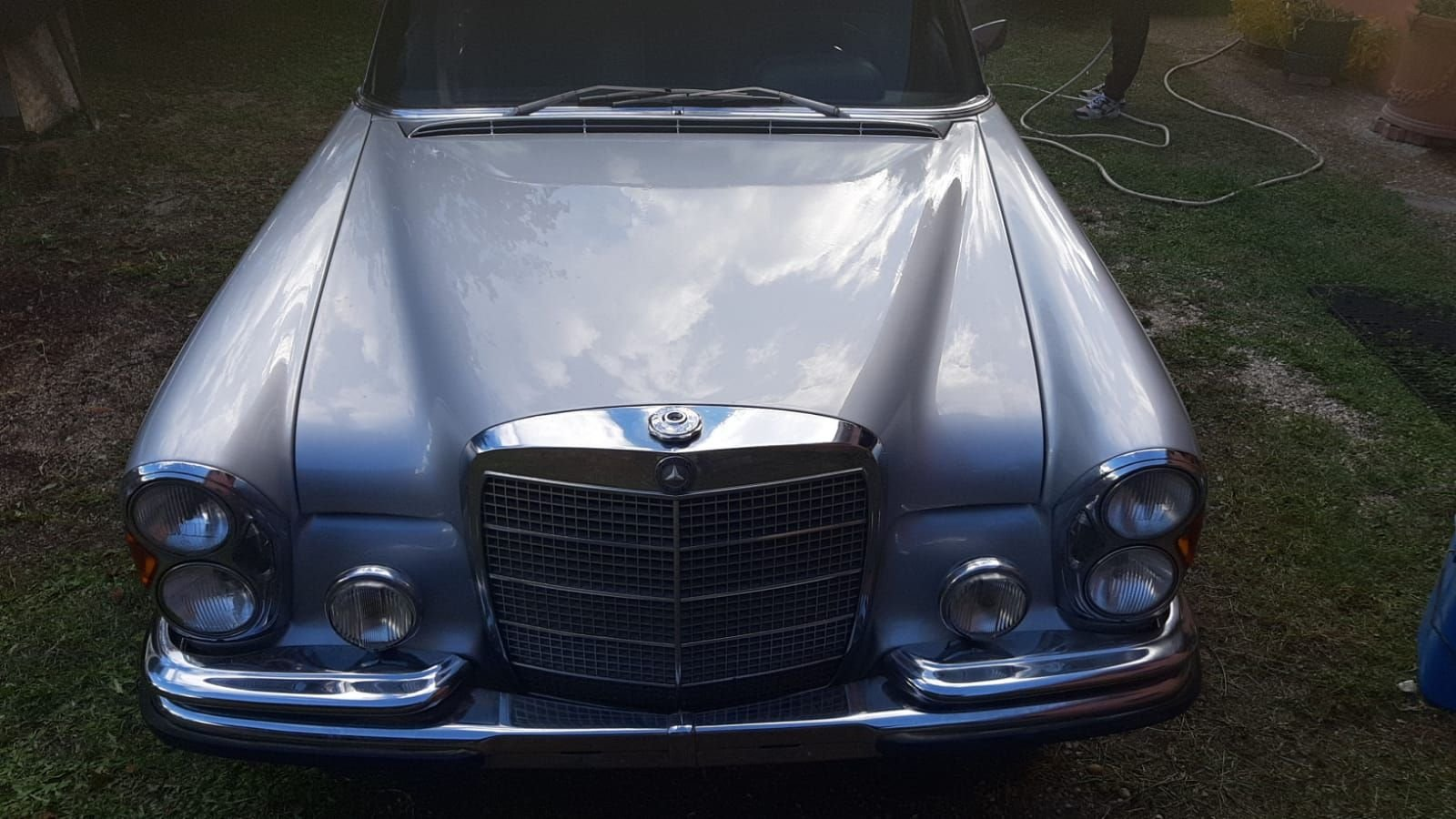 1972 RARE MERCEDES BENZ W108 280 SE  3.5 Saloon LHD For Sale (picture 3 of 12)