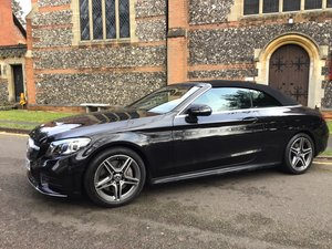 Picture of MERCEDES C300 CABRIOLET AMG LINE PREMIUM  D 2019 STUNNING For Sale