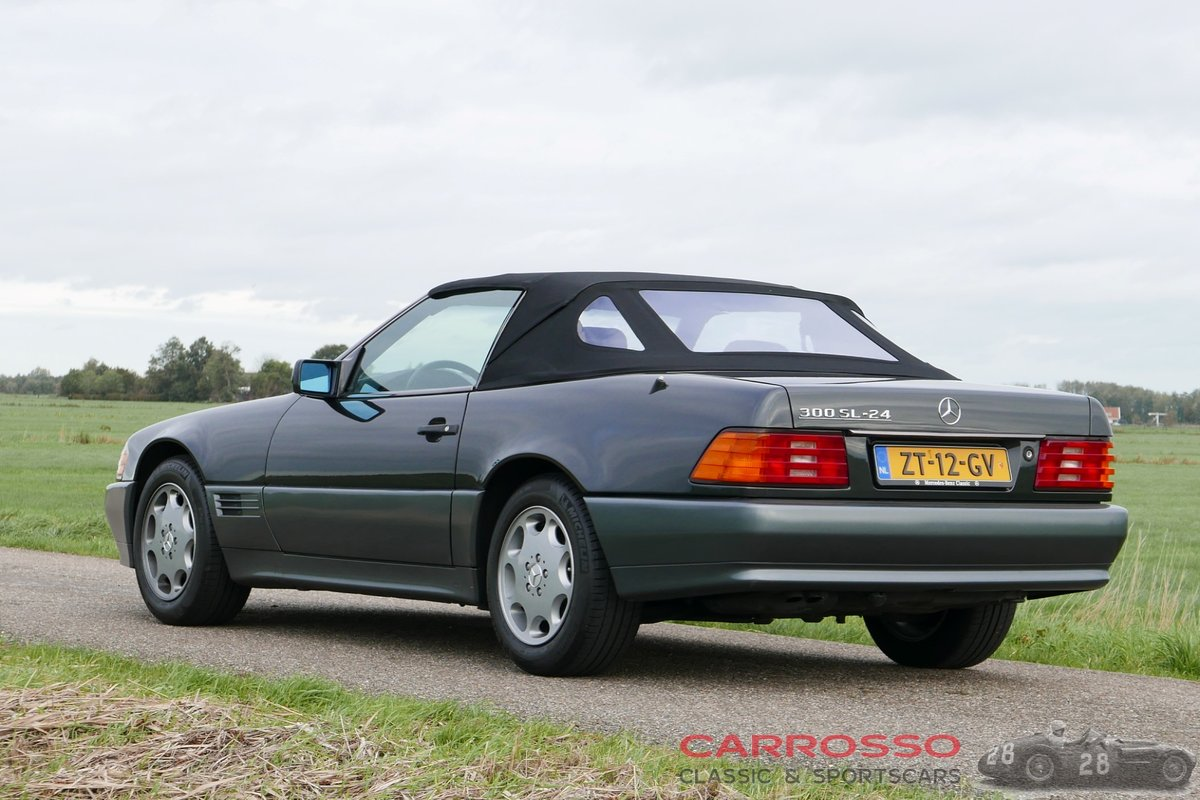 1992 Mercedes Benz 300 SL  24 in very good condition For Sale (picture 2 of 12)