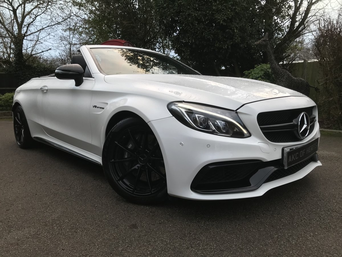 2017 Mercedes-Benz C Class 4.0 C63 V8 BiTurbo AMG Cab, 2 dr For Sale (picture 2 of 12)