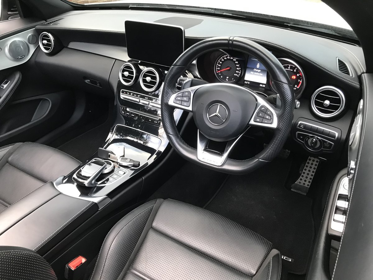 2017 Mercedes-Benz C Class 4.0 C63 V8 BiTurbo AMG Cab, 2 dr For Sale (picture 7 of 12)