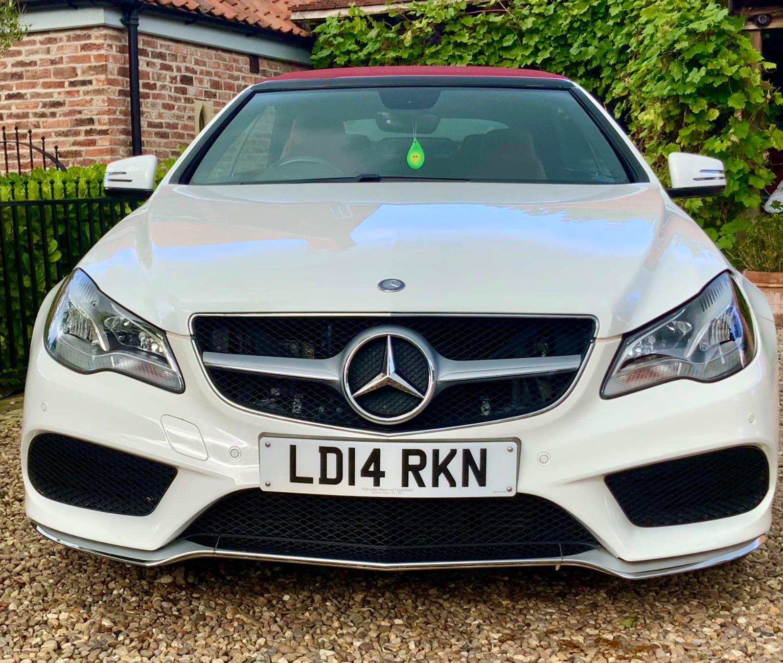 Mercedes E350 Convertible