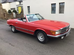 Picture of Mercedes 350 SL 1977 S Reg Superb Car. For Sale