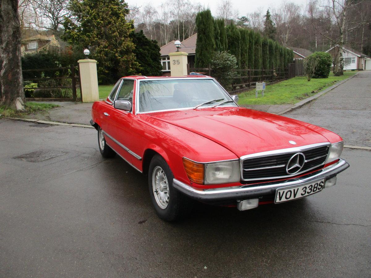 Mercedes 350 SL 1977 S Reg Superb Car. For Sale (picture 5 of 23)