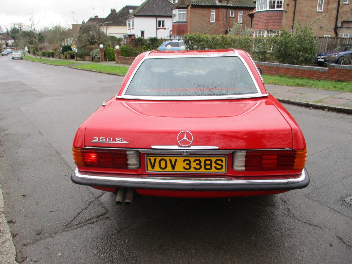 Mercedes 350 SL 1977 S Reg Superb Car. For Sale (picture 12 of 23)