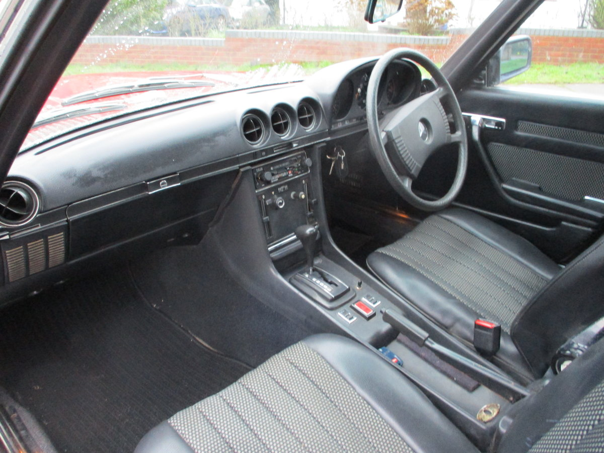 Mercedes 350 SL 1977 S Reg Superb Car. For Sale (picture 13 of 23)