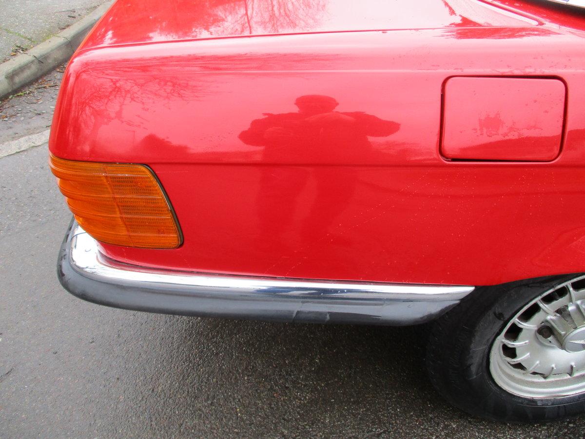 Mercedes 350 SL 1977 S Reg Superb Car. For Sale (picture 17 of 23)