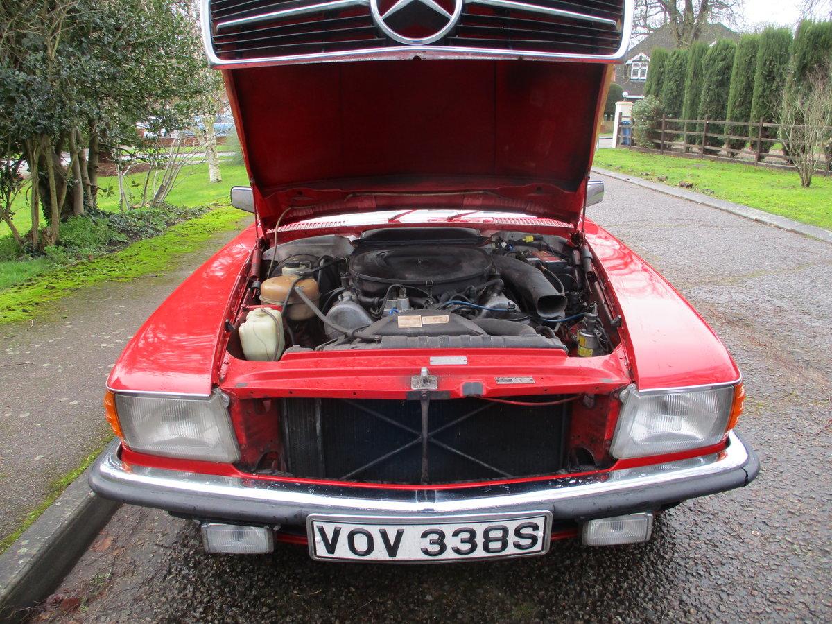 Mercedes 350 SL 1977 S Reg Superb Car. For Sale (picture 23 of 23)