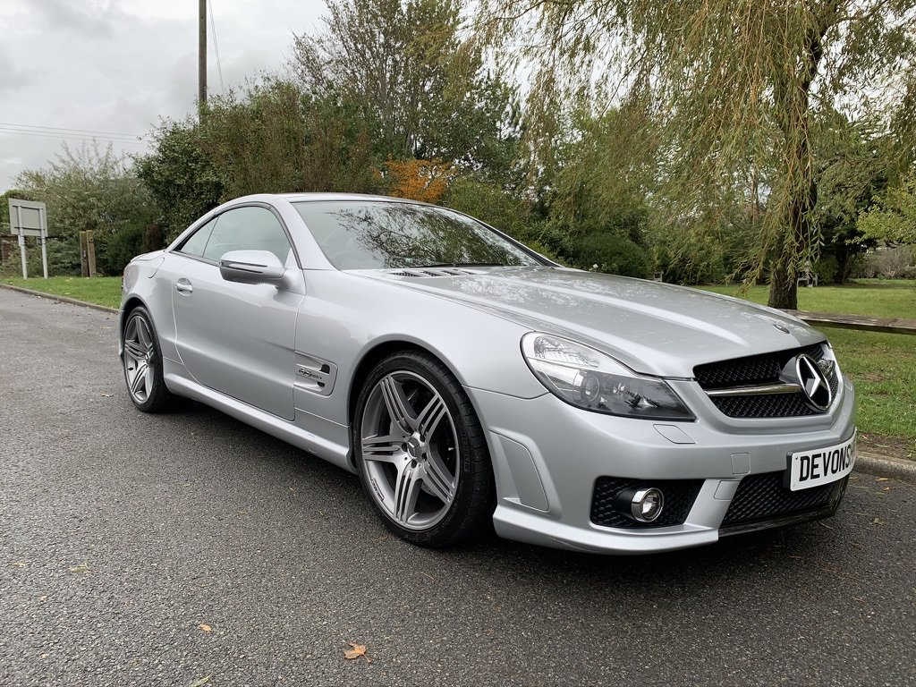 2008 Mercedes Benz SL63 AMG ONLY 24000 MILES FROM NEW For Sale (picture 1 of 12)