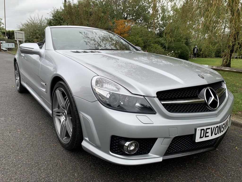 2008 Mercedes Benz SL63 AMG ONLY 24000 MILES FROM NEW For Sale (picture 3 of 12)