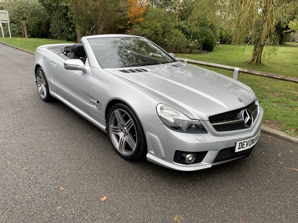 2008 Mercedes Benz SL63 AMG ONLY 24000 MILES FROM NEW For Sale (picture 5 of 12)