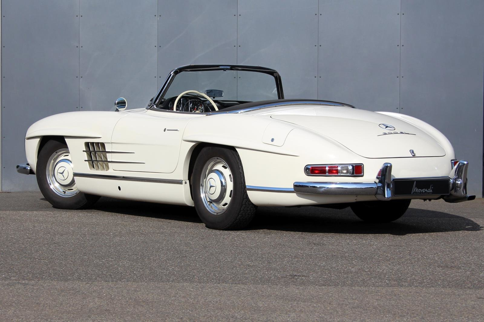 1957 Mercedes-Benz 300 SL Roadster LHD For Sale (picture 2 of 12)