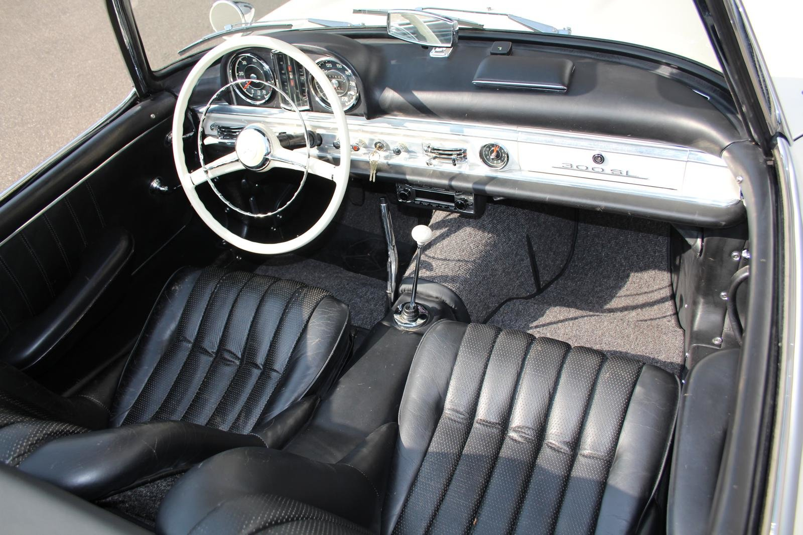 1957 Mercedes-Benz 300 SL Roadster LHD For Sale (picture 3 of 12)