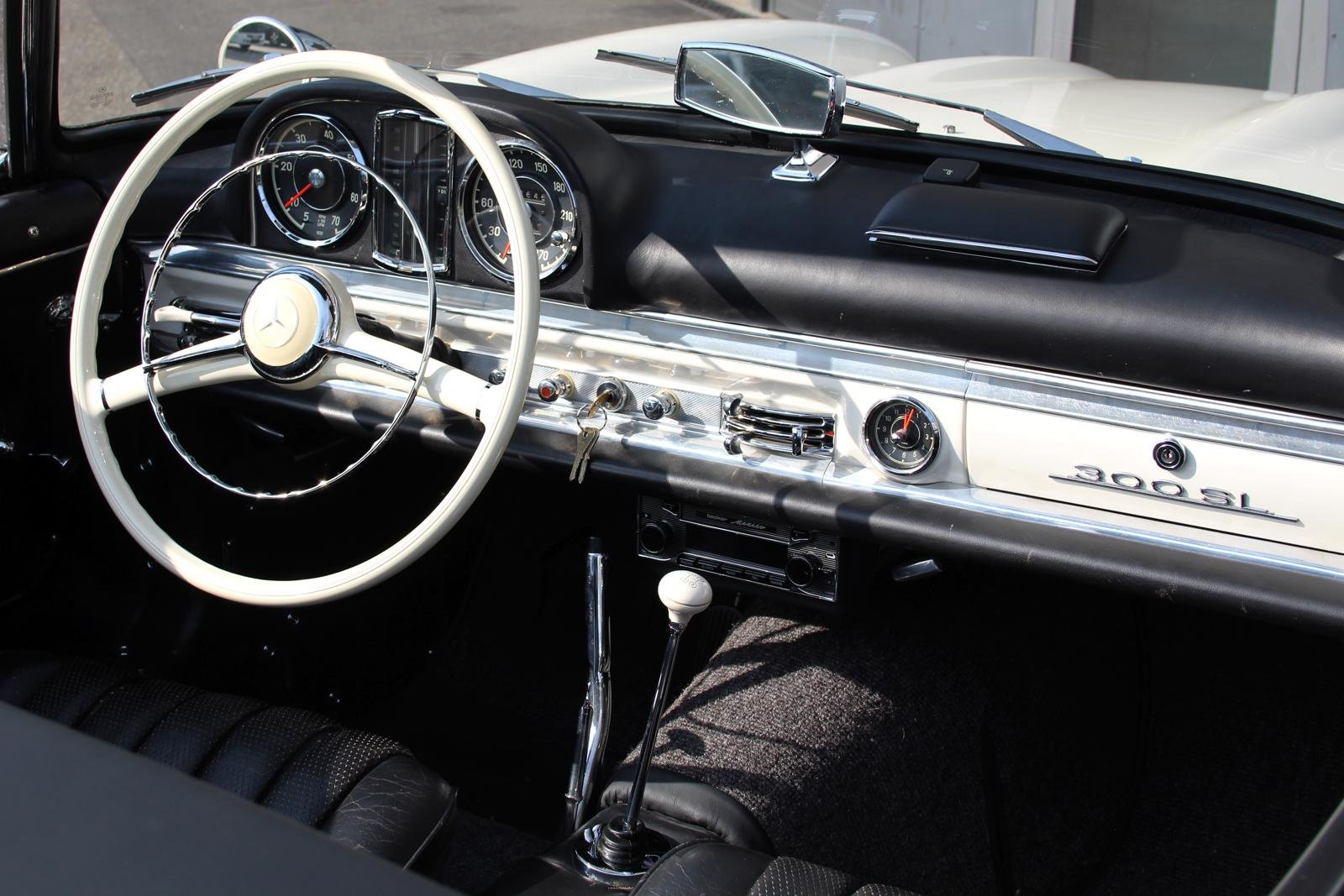1957 Mercedes-Benz 300 SL Roadster LHD For Sale (picture 11 of 12)