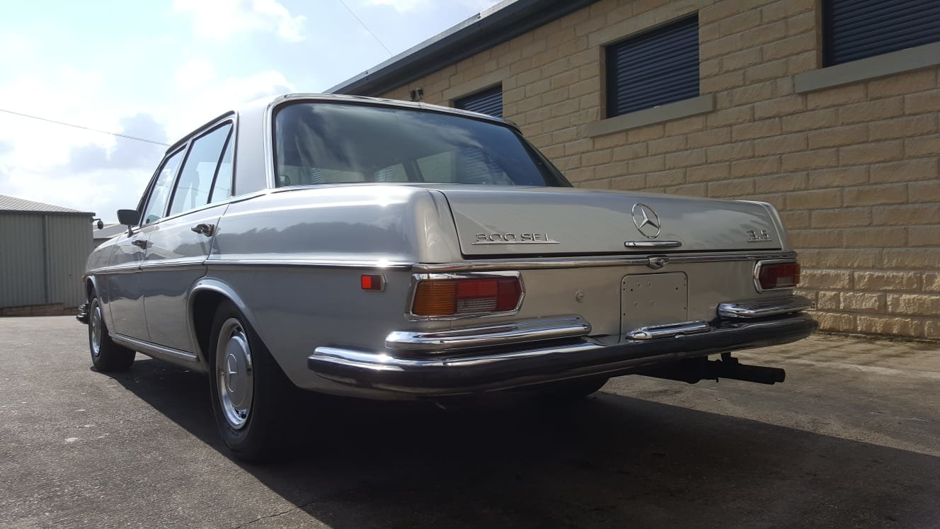 1972 Ultra Rare! Mercedes Benz W108 - 300 SEL 3.5 V8 For Sale (picture 5 of 9)