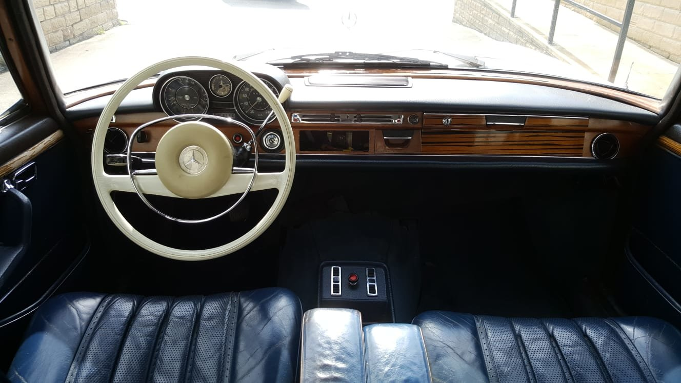 1972 Ultra Rare! Mercedes Benz W108 - 300 SEL 3.5 V8 For Sale (picture 8 of 9)
