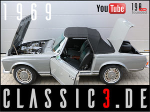 Picture of 1969 MERCEDES-BENZ 280SL PAGODA W113 MATCHING 124-ARABIAN GREY For Sale