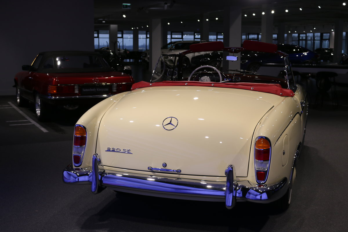 1960 Mercedes 220SE Hydrak Cab. 1 of 20 produced! RESTORED For Sale (picture 7 of 12)