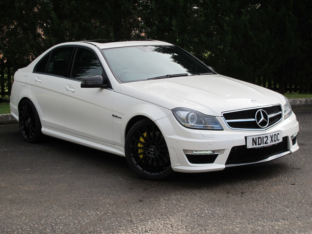 2012 Mercedes C63 AMG Saloon For Sale (picture 1 of 12)