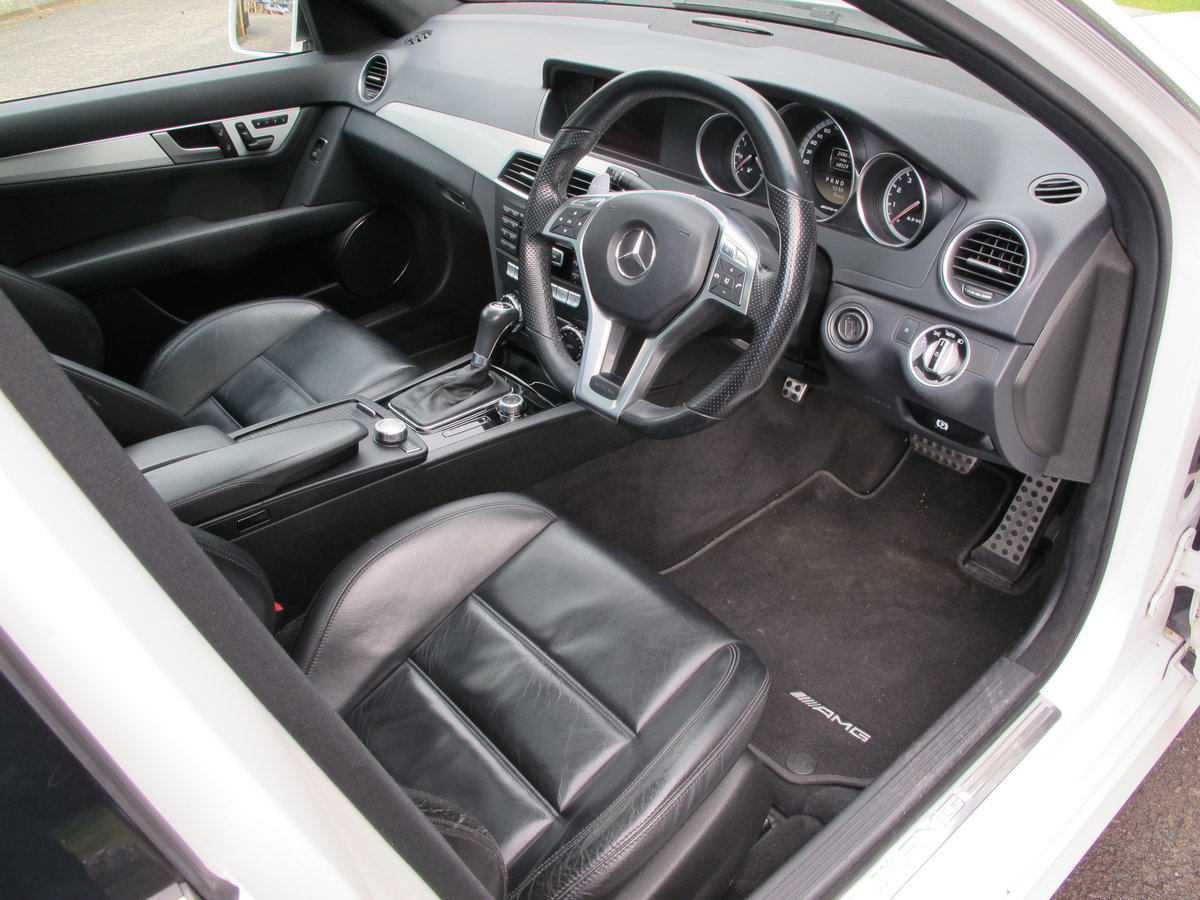 2012 Mercedes C63 AMG Saloon For Sale (picture 2 of 12)
