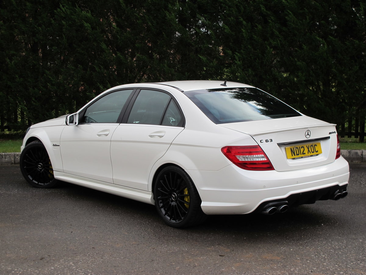 2012 Mercedes C63 AMG Saloon For Sale (picture 3 of 12)