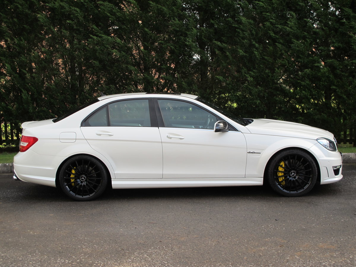 2012 Mercedes C63 AMG Saloon For Sale (picture 5 of 12)