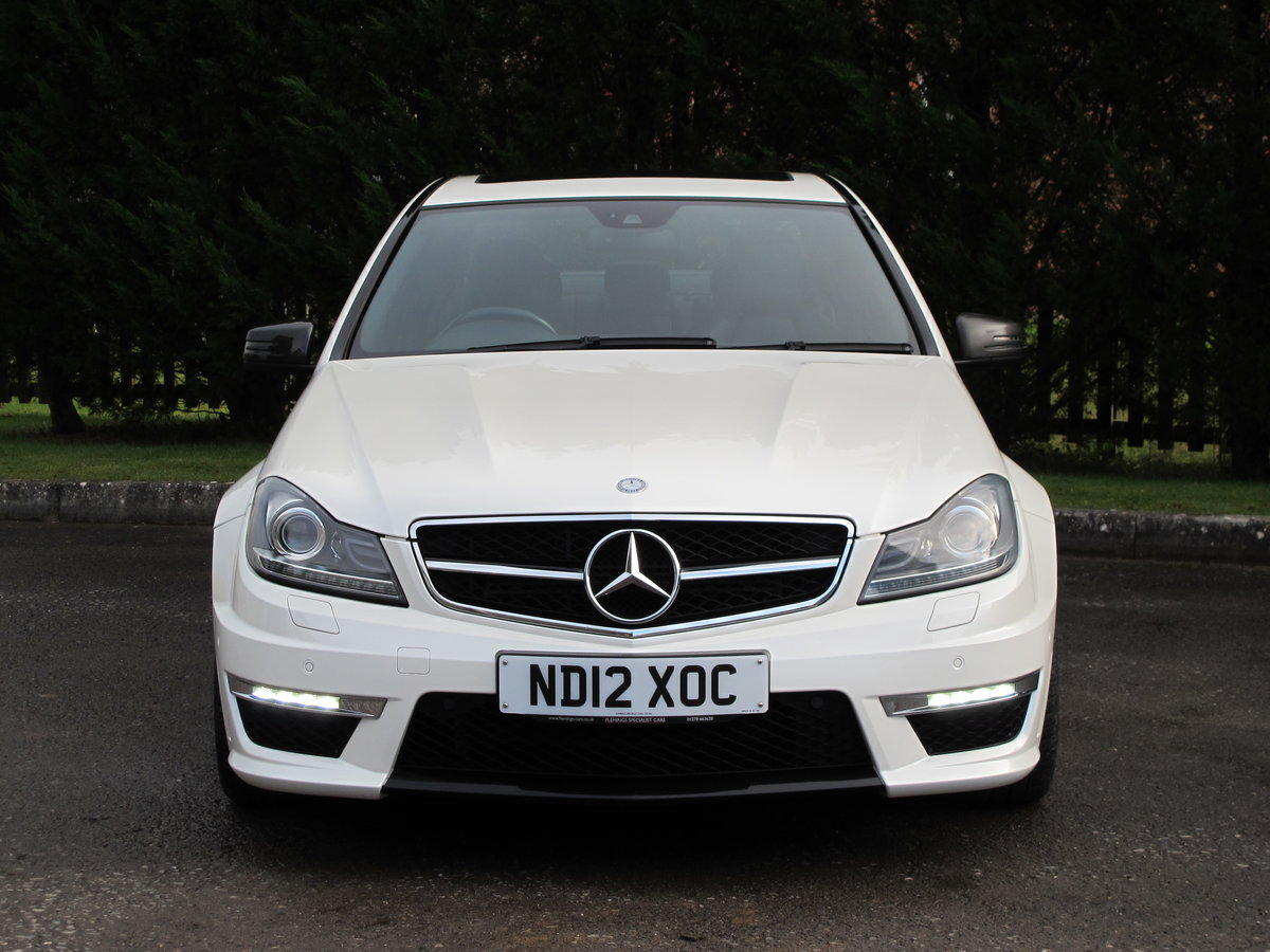 2012 Mercedes C63 AMG Saloon For Sale (picture 9 of 12)